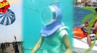 2015年、団体旅行で春休みのマリンスポーツ・ツアー情報! 海外でウェディングパーティー/社員旅行/学生旅行でマリンスポーツなら…バリ島の限界価格!シーウォーカー・パッケージ7in1 Bali Dolphin...