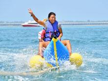 バリ島 5in1パッケージランチ マリンスポーツ