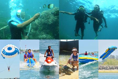 シーウォーカー・パッケージ7in1 Bali Dolphin社