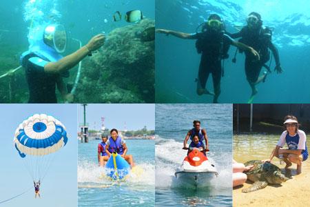 シーウォーカー・パッケージ5in1 Bali Dolphin社