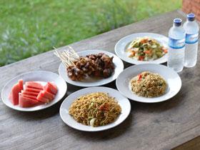 昼食(インドネシア料理)