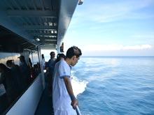 べノアハ―バ―を出港