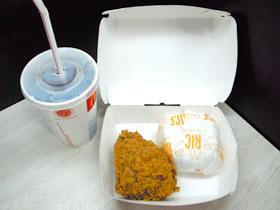 マクドナルドのお弁当ボックス