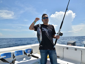 大物が釣れることもある