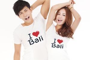 I ラブ BALI Tシャツ