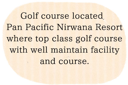 Nirwana Golf located near by Tanah Lot temple where top class golf course!
