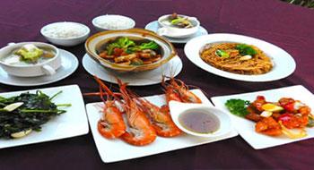 香港海鮮料理 Aセット