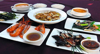 香港海鮮料理 Bセット