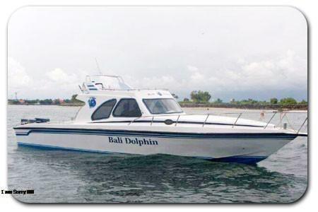 バリ島 20人乗りボート 写真