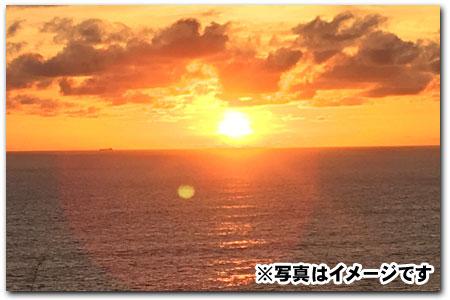 バリ島 サンセット 写真