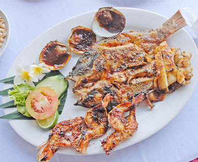Bali Choice of meal Tenpura Bento