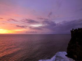 Panorama View of Indian Ocean