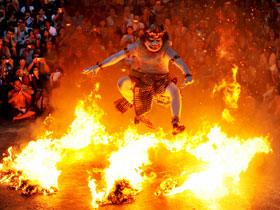 Dynamic Fire Dance