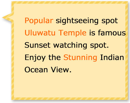 Enjoy the Sunset at Uluwatu temple where most aconic place in Bali