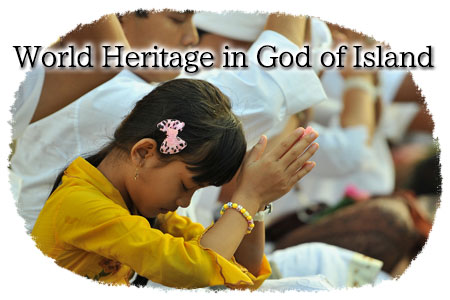 World Heritage in God of Island