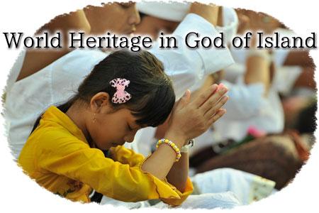 World Heritage in God of Island