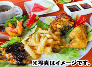 Ayam (Chicken) Course