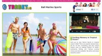 Marine Sports is now open!! There are popular banana boat, jet ski, fly fish, snorkeling, and also unique menu...
