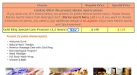 Hali Bali Spa start selling new menu! There are new 4 menus use Gold Ring. It is effective for anti-aging and ...