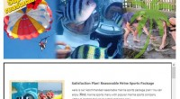 HIRO-Chan Group Sea Walker Package 7in1 Apollo OPEN!!! Here is super reasonable marine sports package 7in1! In...