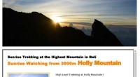 HIRO-Chan Group Sunrise Trekking Mt.Agun Do you want to have new sightseeing experience in Bali? We have great...