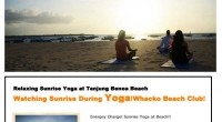 HIRO-Chan Group Sunrise Yoga Whacko Beach Club OPEN!! Sunrise Yoga at Whacko Beach!!! Let's join this yo...