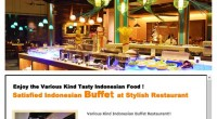HIRO-Chan Group Satisfied Indonesian Buffet Abians OPEN!!! Full variety buffet restaurant Abians OPEN!!! Abian...
