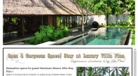 HIRO-Chan Group Day Use Plan Kayumanis Jimbaran OPEN!!! Here is our recommendation day use plan! How about spe...