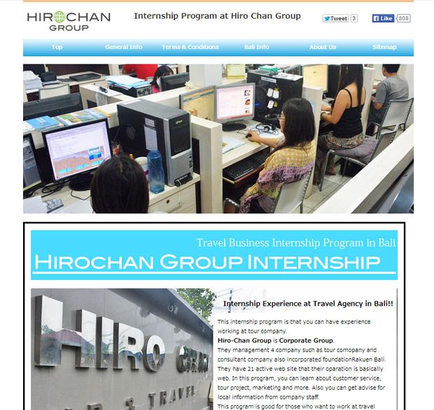 HIRO-Chan Group Internship Program OPEN!!!