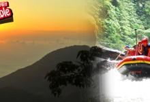バリ島 観光S/R Sunrise Trekking + Rafting