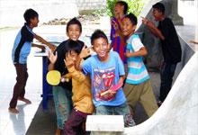 インドネシア夏休み