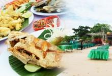 バリ島 観光Seafood BBQ Buffet at Furama Cafe in Jimbaran Beach