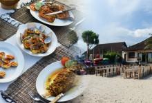バリ島 観光Seafood BBQ Buffet at Wali Beach Cafe in Jimbaran Beach