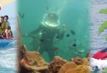 バリ島 観光The Lowest Price! Sea Walker Pckage 7in1 Mawaru Kuning