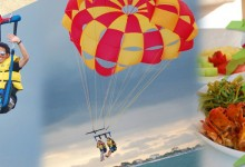バリ島 観光Sky Love ♡ Parasailing for Couple by BMR