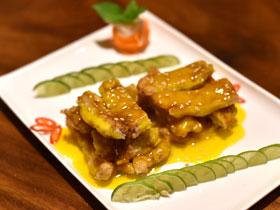 鶏から揚げレモンソース