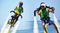"""2014年4月1日。エイプリルフールであり、バリ島静寂の日""""ニュピ""""の翌日のこの日、体験レポーターのマルッチ&カメラマンクマッチでバリ島の最新マリンスポーツのジェットパックとジェットバイクが出来るアポロ社へ突撃体験取材に..."""