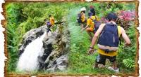 至高のアクティビティ第2弾!! トレッキング&滝スライダー&滝ジャンプの登場です! バリ島北部で田園風景と豊かな自然の風景を楽しみながらトレッキング、それから、小さな滝つぼのある清流でスイミング、そして、高さ10メートル...