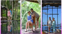 """ヒロチャングループ専属カメラマンのクマッチです。 2014年6月15日、20日、23日と飛び飛びの日程で、この""""お気軽40分フォトプラン""""の撮影がありました。 今回のお客様はバリ島の自然がとっても似合う爽やかカップルです..."""