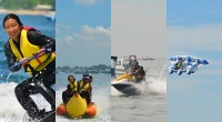 タンジュンベノアで豊富なマリンスポーツを提供している老舗マリンスポーツ会社、バリコーラル社のマリンスポーツを写真でご紹介! 南部リゾートエリアからアクセスが便利なタンジュンベノアは、白い砂浜に、透明度の高い海が自慢の場所...