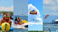 豊富なマリンスポーツを提供しているスランガンサーフィン社のマリンスポーツを写真でご紹介! 潮の満ち引きに影響を受けないここスランガン島は、白い砂浜に、透明度の高い海が自慢の場所です。日本人観光客も多いことから、スタッフは...