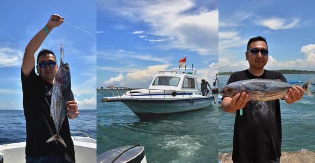 バリ島スポーツフィッシング 体験レポート バリドルフィン社 | バリ島マリンスポーツ