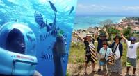 2015年9月11日。レンボンガン島で海底散歩のマリンウォークを催行しているマリンウォーク社の取材へと行って来ました! 私事ですが、ちょうど両親と弟がバリ島へ旅行に来ていたので、取材に同行してもらうという前代未聞の嬉しい...