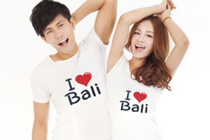 I ラブ BALI Tシャツ1